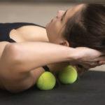 Soulager les tensions du corps avec des balles de tennis